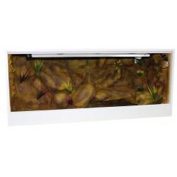 Terrarium z tłem strukturalnym 120x60x60