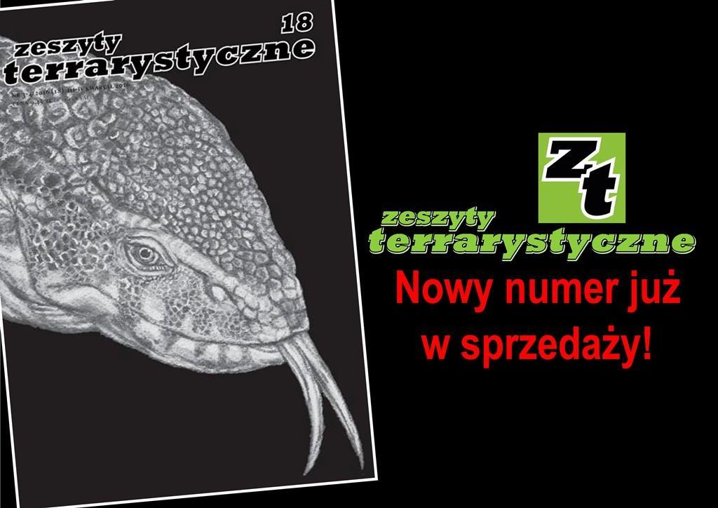 Zeszyty Terrarystyczne - Nowy numer!