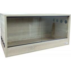 Terrarium 100x50x45cm Dąb Sonoma