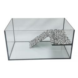 Akwarium dla kraba-żółwia Akwaterrarium 45x40x20cm