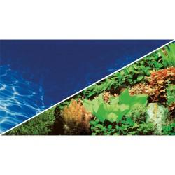 Tło akwariowe dwustronne 30 cm/25 m rośliny/woda