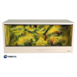 Terrarium dla gekona lamparciego 100x40x40 Sonoma