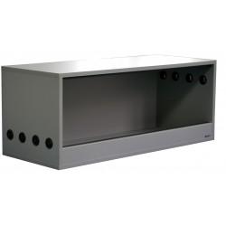 Terrarium 100x40x40cm Szary Platynowy do samodzielnego montażu
