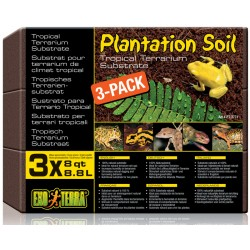 Exo Terra Podłoże Plantation Soil 3 x 8.8 L