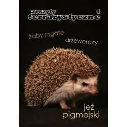 Jeż Pigmejski Zeszyty Terrarystyczne nr 2/2012 (4)