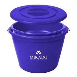 Mikado Wiadro + miska + pokrywa 21l