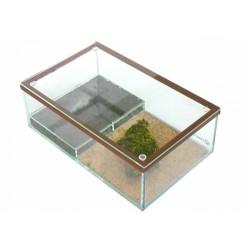 Formikarium 30x19x10cm brązowe