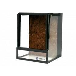 Terrarium 15x15x20cm z tłem