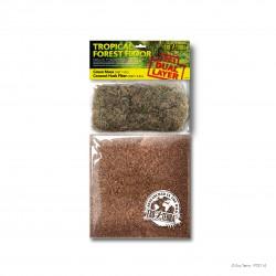 Podłoże 2w1 do terrarium las tropikalny  3,3L + 1,1L