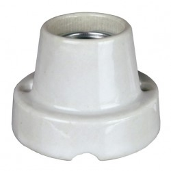Gniazdo żarówkowe Pro Socket, porcelanowe