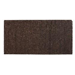 Boczna/Tylna ścianka z czarnego korka 100x50x2cm