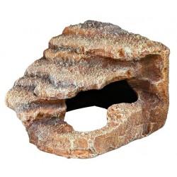 Skała narożna z jaskinią i platformą 16x12x15cm Trixie
