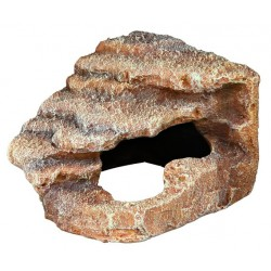 Skała narożna z jaskinią i platformą 27x21x27cm Trixie