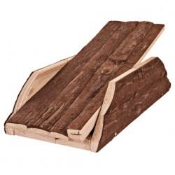 Huśtawka dla gryzoni, naturalne drewno, 32 × 7 × 14 cm