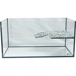 Akwarium dla żółwia wodno-lądowego 75x40x40cm
