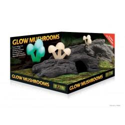 EXO TERRA Glow Mushrooms dekoracja grzyby fluorescencyjne